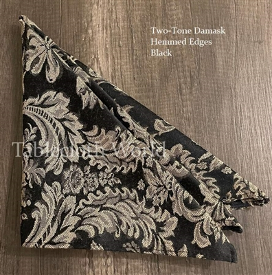 Two-Tone Damask Napkins