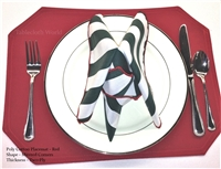 Placemats Poly Cotton