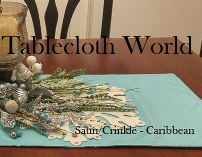 Placemats Two Sided Satin Crinkle