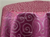 Swatches Silver Spiral Damask