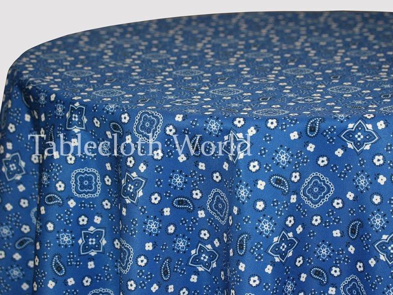 tablecloths bandana larger photo