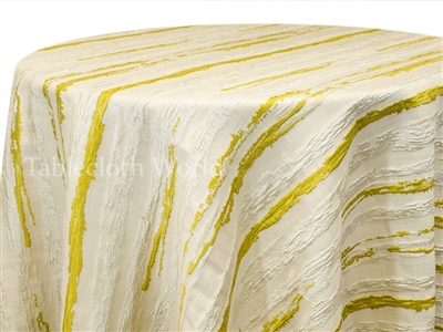 Bark Tablecloths Yellow