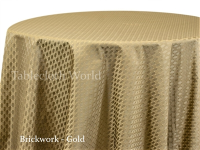 Brickwork Tablecloths