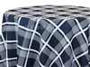 Cape Cod Plaid Navy Tablecloths
