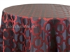 Tablecloths Celtic Cross Red Mulberry