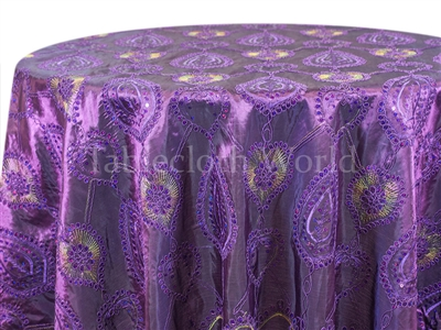 Constantine Damask Tablecloth