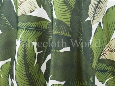Crusoe Palm Tropical Tablecloths