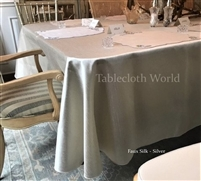 Tablecloths Faux Silk