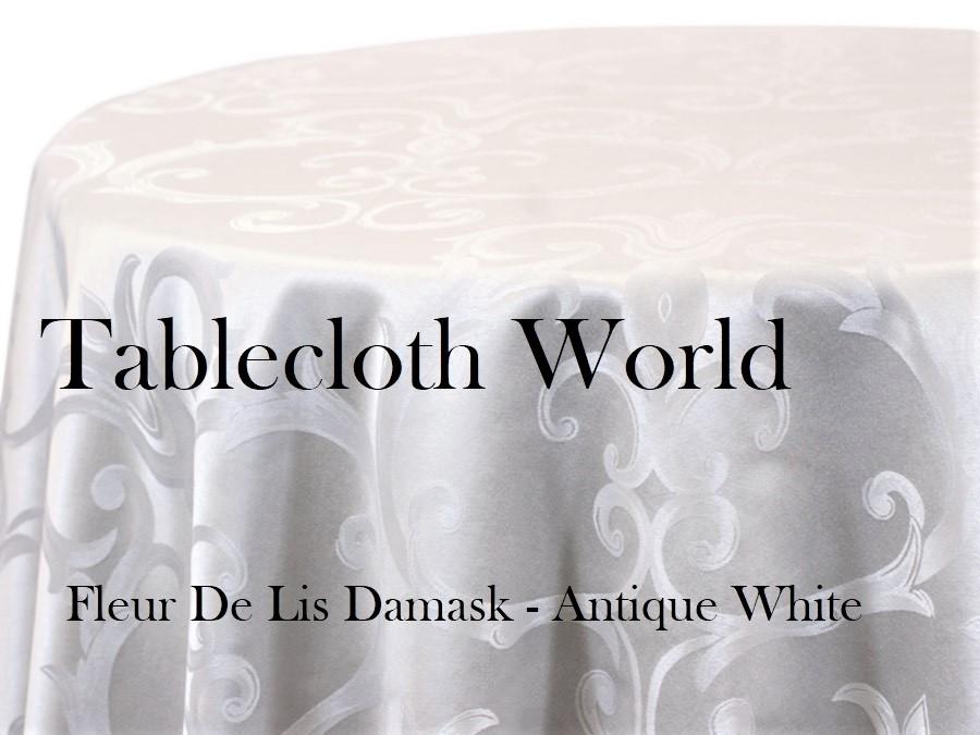 Tablecloths Fleur De Lis Damask · Larger Photo