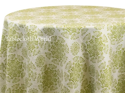 Florum Green Tablecloths