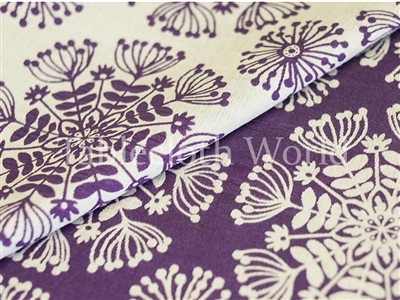 Florum Purple Tablecloths