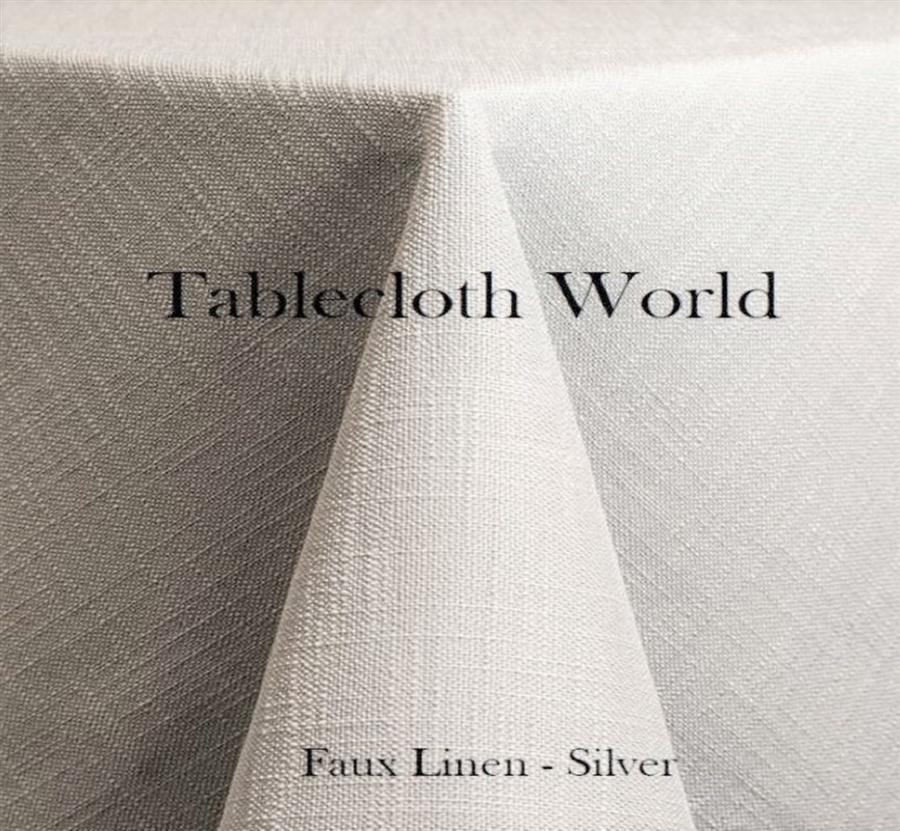 Tablecloths   Faux Linen   24 Colors