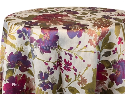 Gwendolyn Pink Tablecloths