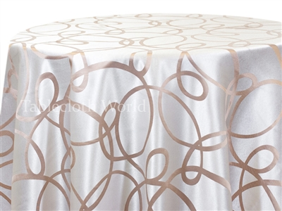 Tablecloths Hula Champagne