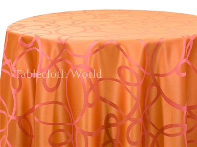 Tablecloths Hula Pink and Orange