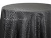 Tablecloths Interlace Black