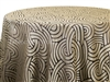 Tablecloths Interlace Gold
