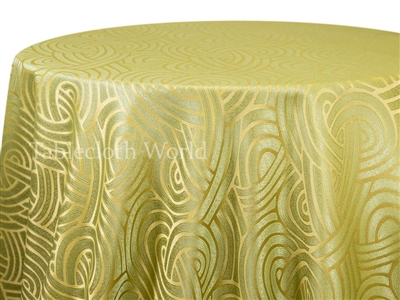 Tablecloths Interlace Green