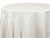 Tablecloths Interlace Ivory