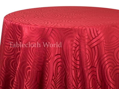 Tablecloths Interlace Red