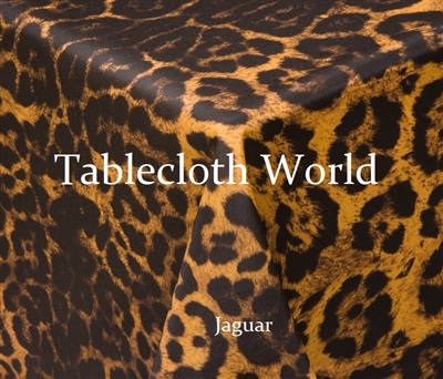 Tablecloths Jaguar Print