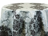Tablecloths Mirror Damask Platinum