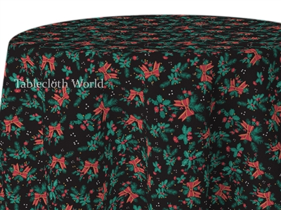 Tablecloths Christmas Mistletoe