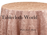 Paisley Lace Tablecloths