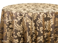 Pinstripe Damask Tablecloths