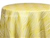 Pod Print Tablecloths Citron