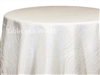 Pod Print Tablecloths White