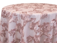 Princess Lace Blush Tablecloths