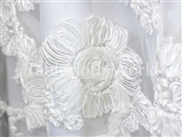 Princess Lace White Tablecloths
