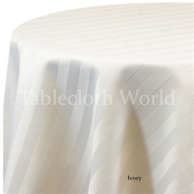 Tablecloths Satin Stripe
