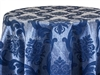 Saint Louis Damask Blue Tablecloths