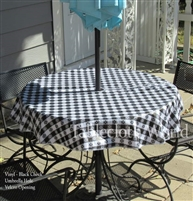Vinyl Tablecloths Check