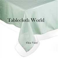 Clear Vinyl Tablecloths