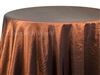 Wrinkle Tablecloths Burnt Umber