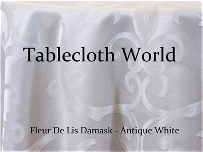 Table Runners Fleur De Lis Damask