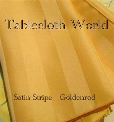 Table Runners Satin Stripe