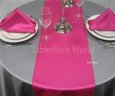 Table Runners Soft Satin