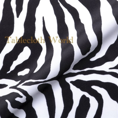 Table Runners Zebra
