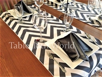 Table Runners Zig Zag