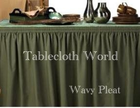 Table Skirts Restaurant Style