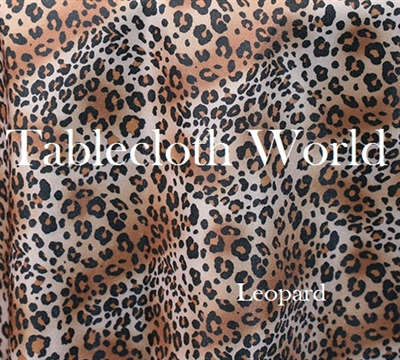 Table Runners Leopard