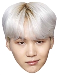Star Cutouts SUGA (BTS KPop) Min Yoon-gi SINGLE MASK