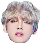 Star Cutouts V (BTSPop) Kim Tae-hyung Single Mask