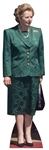 Star Cutouts Ltd CS383 Mrs Thatcher Conservative Politician and Prime Minister 1970s 1980s Lifesize Cardboard Cutout Height 174cm