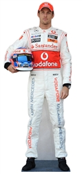 Celebrity Standee Jenson Button Formula One Racing Driver Lifesize Cardboard Cutout