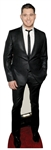 Star Cutouts Ltd CS546 Michael Buble Lifesize Cardboard Cutout Great Fun for Fans, Christmas Parties and VIP Events Height 174cm